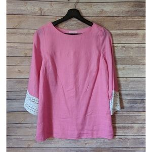 Lilly Pulitzer Eyelet Trimmed Tunic